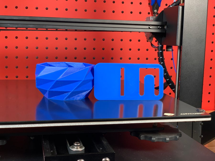 Anycubic Mega X finished prints