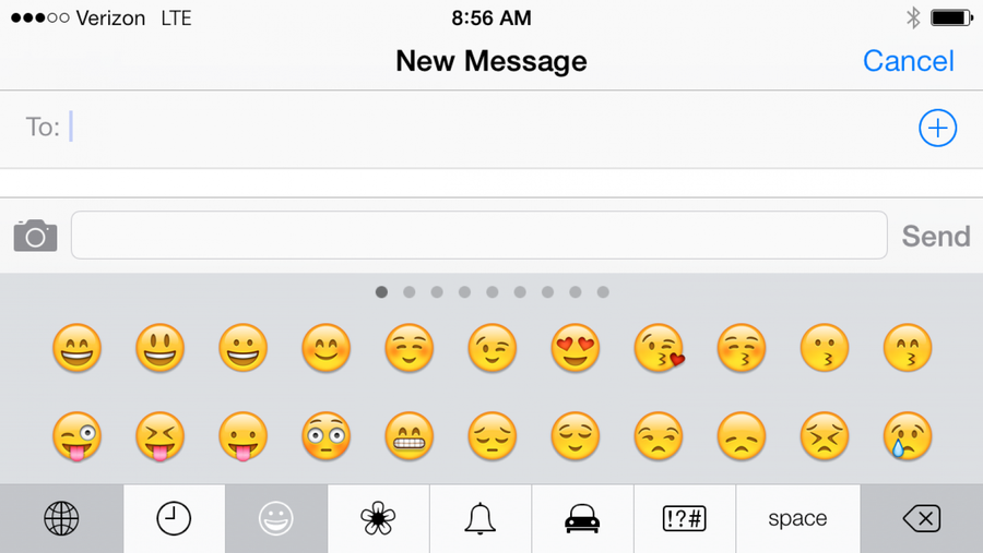 How to enable emojis in iOS 7
