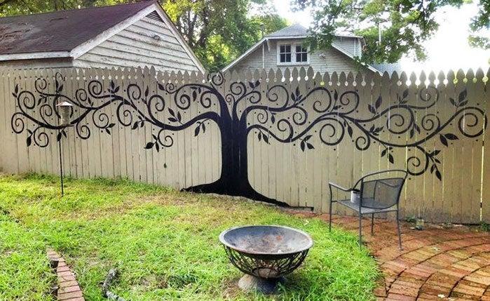 fence stencils