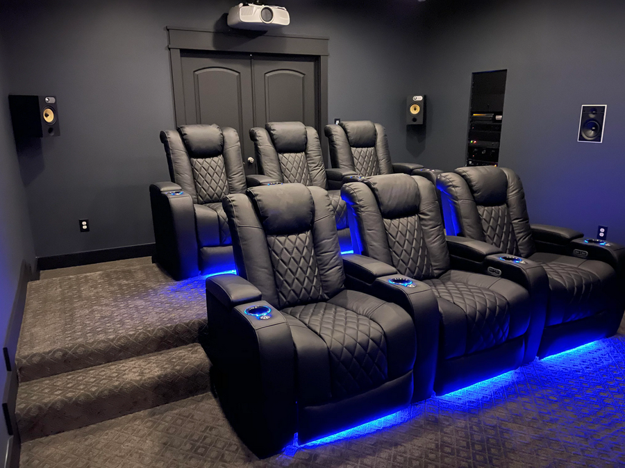 swanky little home theater