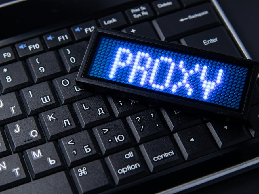 Proxy on keyboard