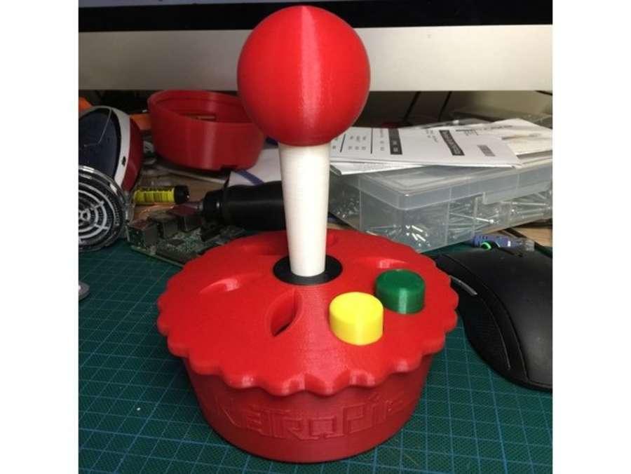RetroPie logo Raspberry Pi 3D printed case