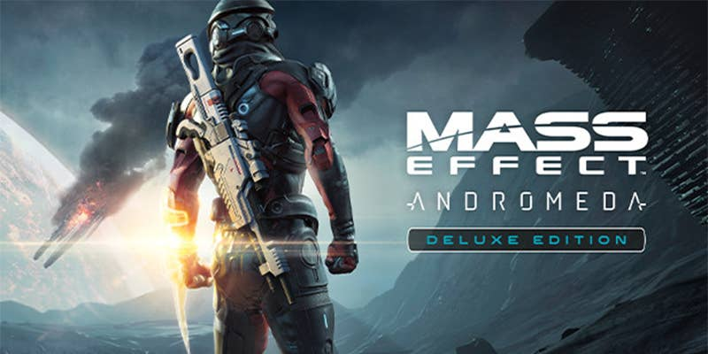 mass effect andromeda deluxe edition logo