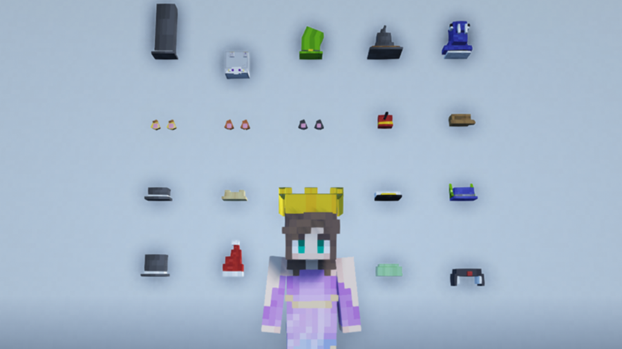 give me hats block and item mods minecraft fabric