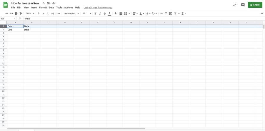 Highlight row Google Sheets
