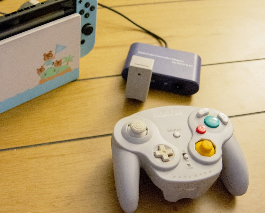 GameCube controller to Switch adapter