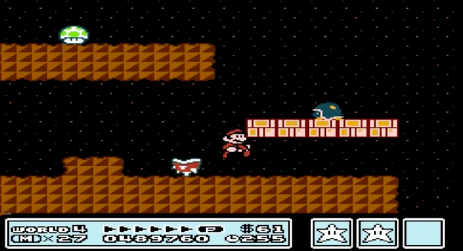 Super Mario 3 Gamplay