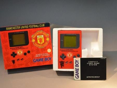 Manchester United Game Boy