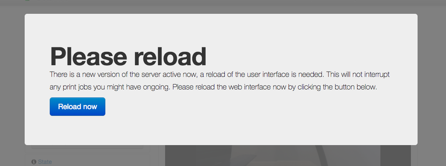 Reload your browser