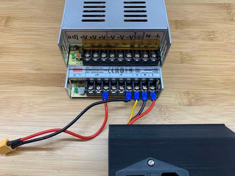 Ender 3 MeanWell PSU wiring