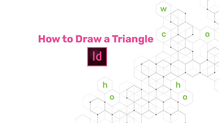 How to Draw a Triangle in InDesign