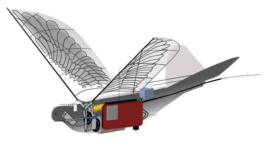 24 Dove Eye in the Sky Spy Drone from China
