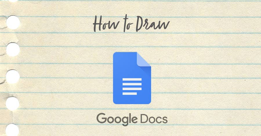 how to draw in google docs