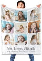 Custom Blanket with Picture