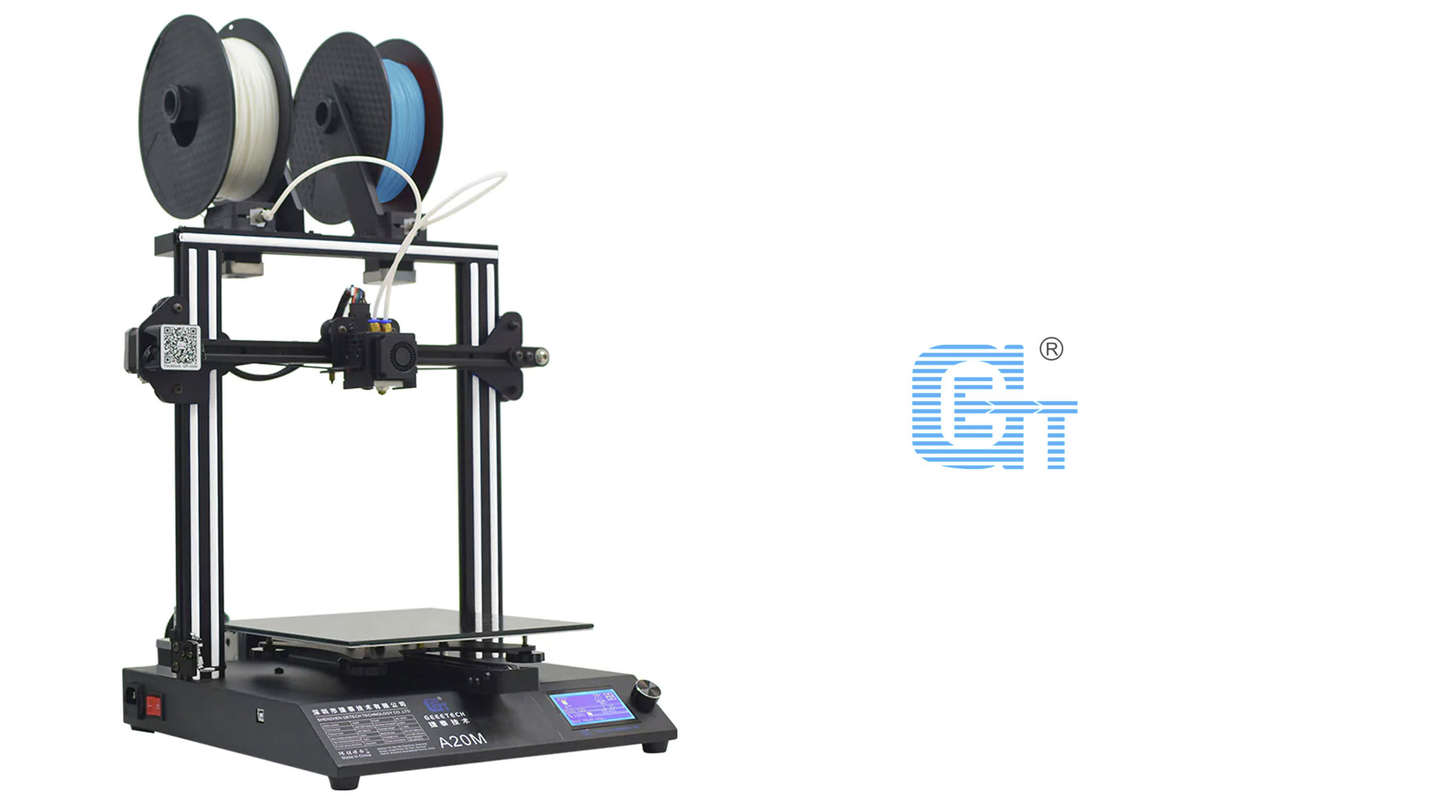Geeetech A20M review - A large scale 3D printer