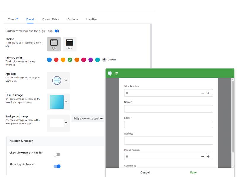 google forms addon appsheet