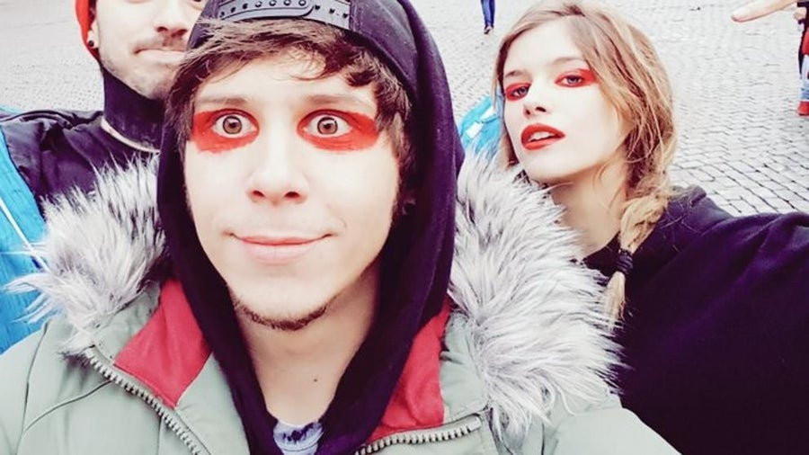 elrubiusomg face paint