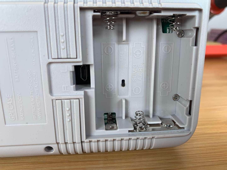 RetroFlag GPi CASE safe shutdown switch