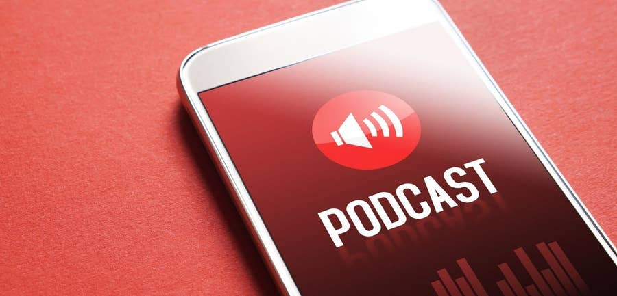 Podcast on iPhone
