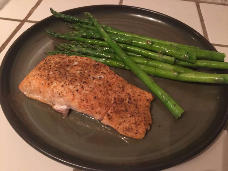 How to Bake Salmon Fillets