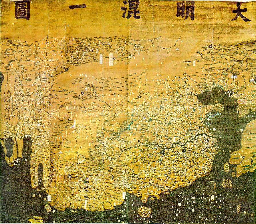Da Ming Hu Yi Tu map