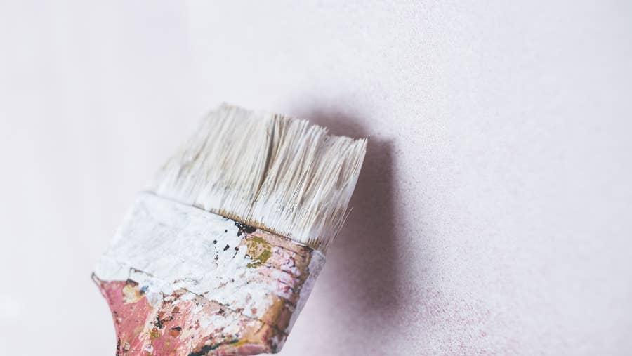 Dirty, dirty paintbrush.