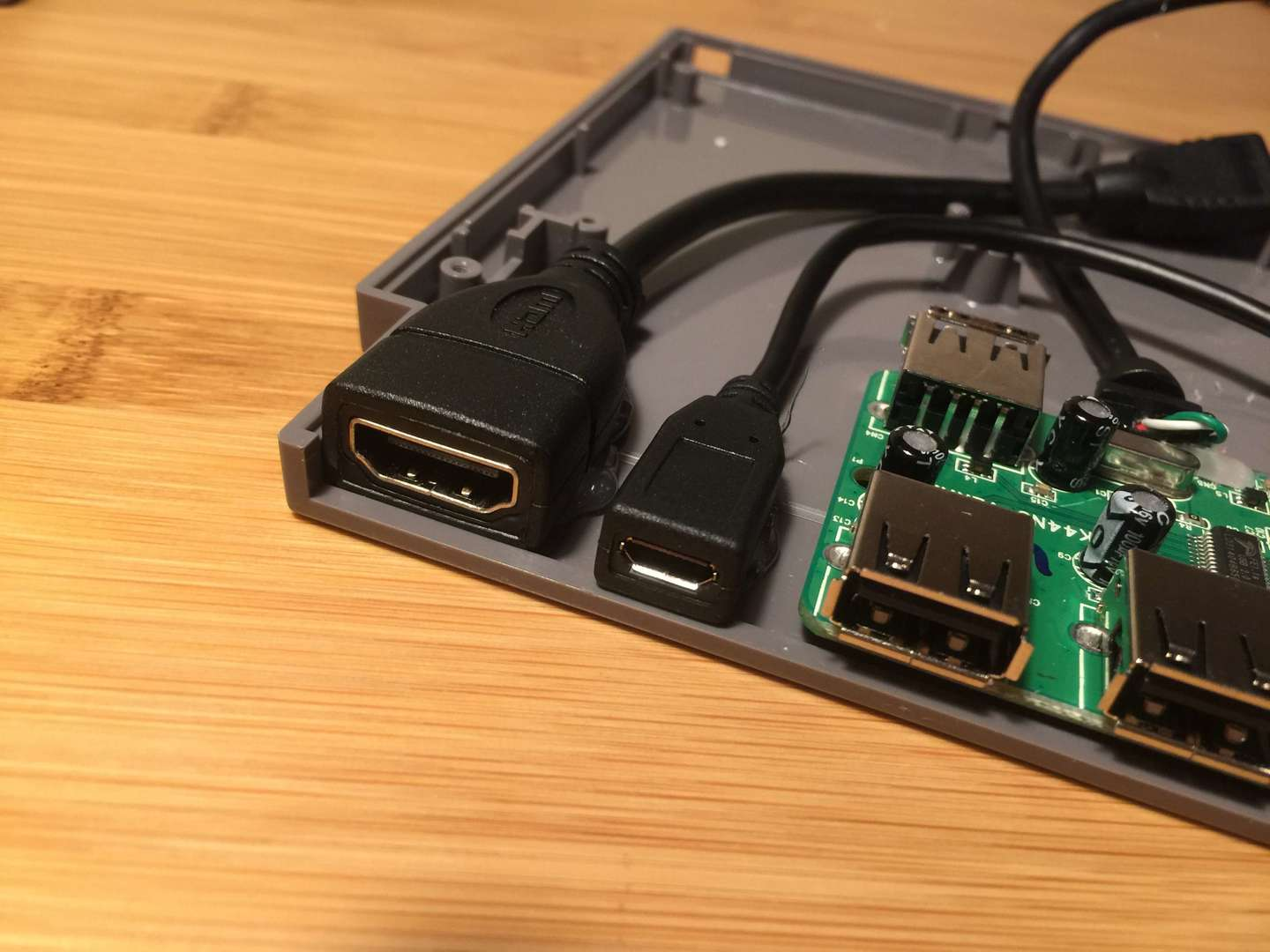 The Pi Cart ports