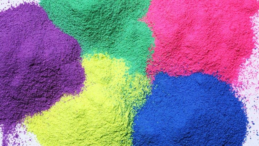 Secondary paint pigments.