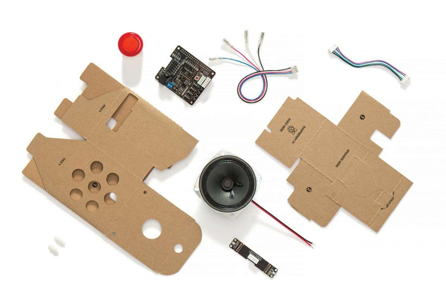 The Google AIY Voice Kit