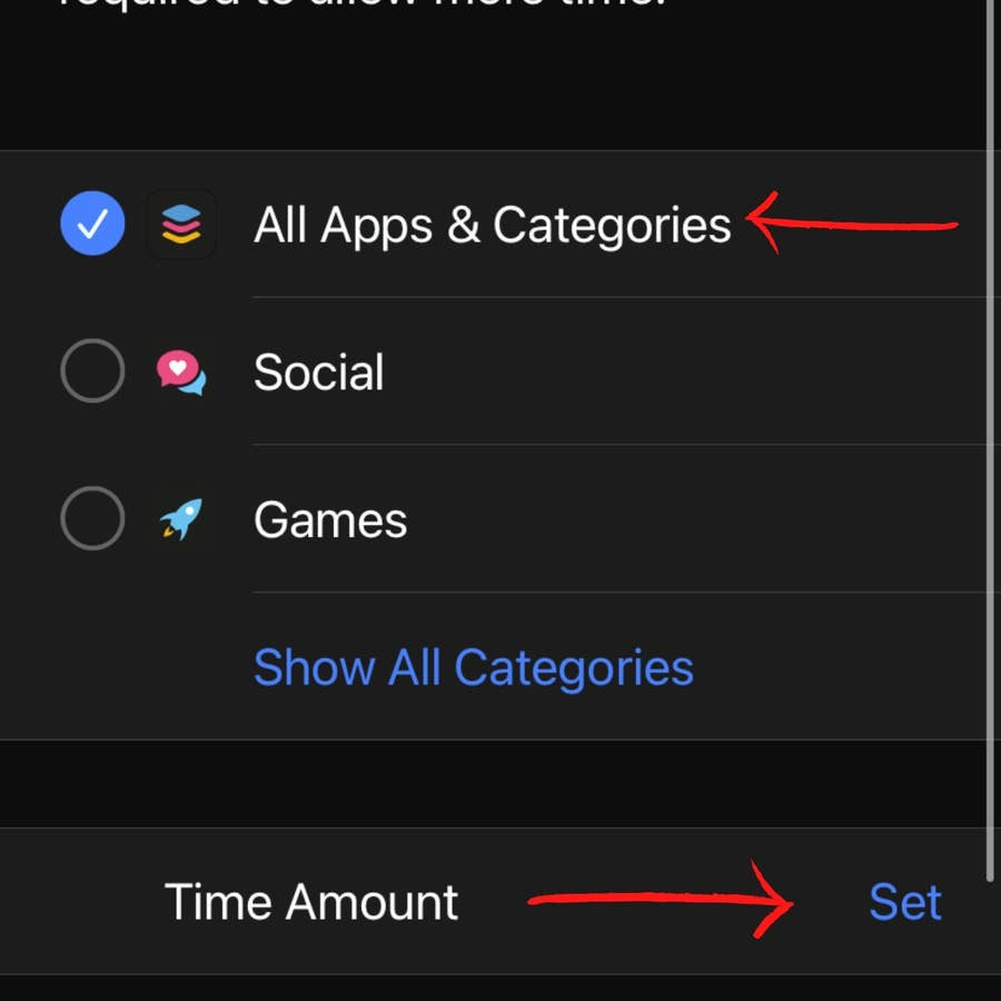 Decide on App Limits