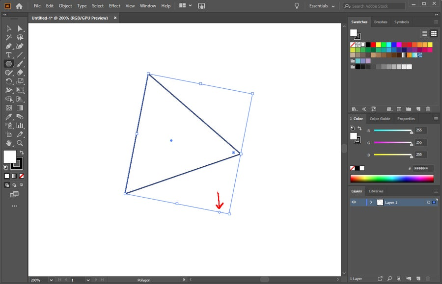 Illustrator Polygon Shape Tool