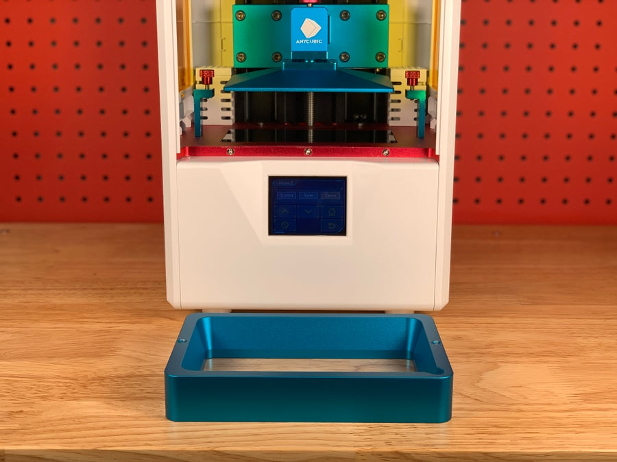 Anycubic Photon S with resin vat removed