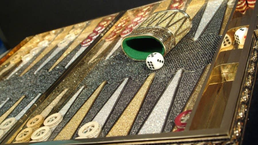 Charles Hollander Backgammon Set – $1.5 Million