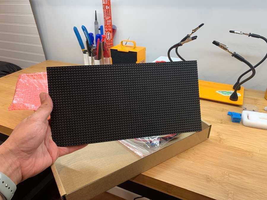 Adafruit 64x32 LED panel