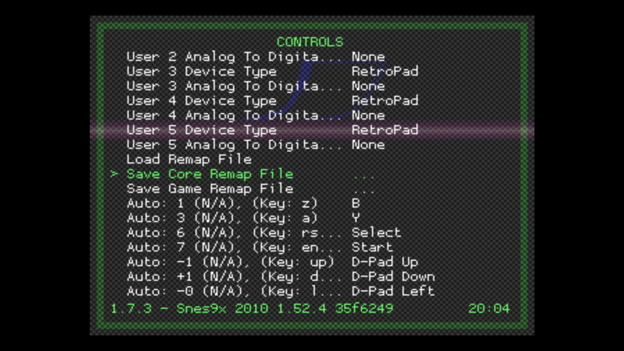 Configure your RetroPie controller for a single console (gaming system)