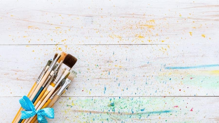 Paint brush sets.