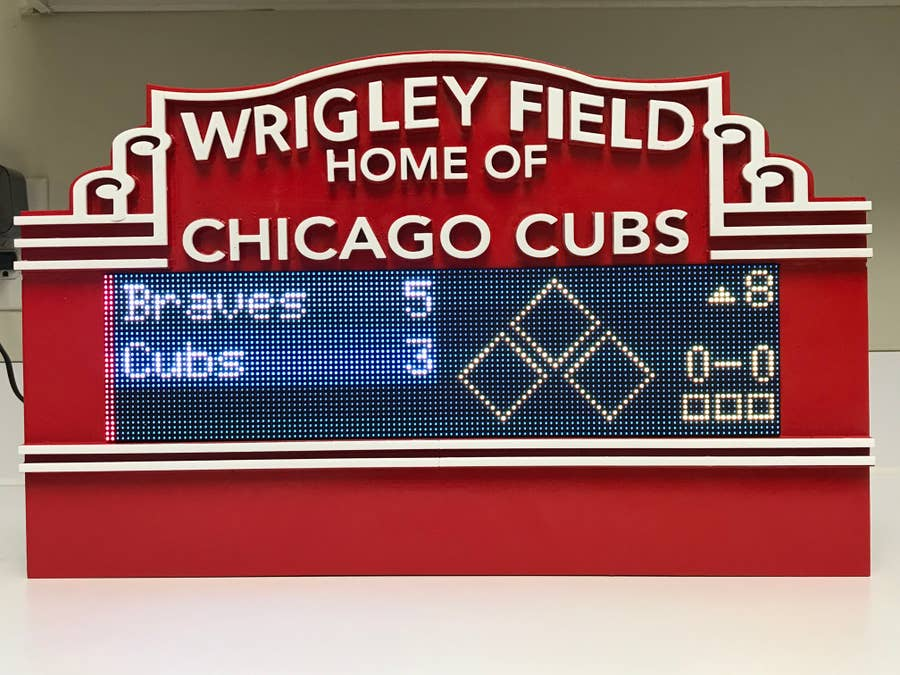 MLB LED scoreboard marquee