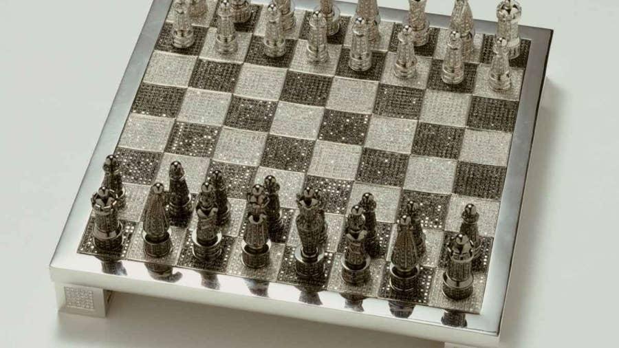 Royal Diamond Chess Set - $600,000