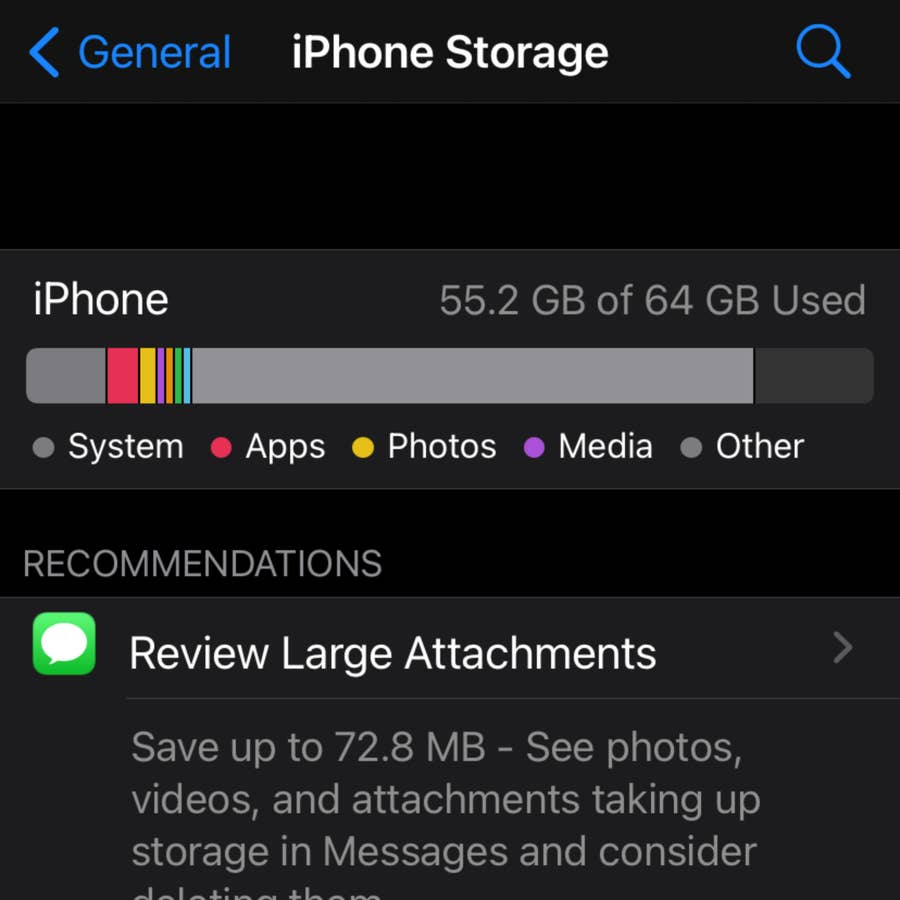 The Difference Between iCloud and Internal Storage