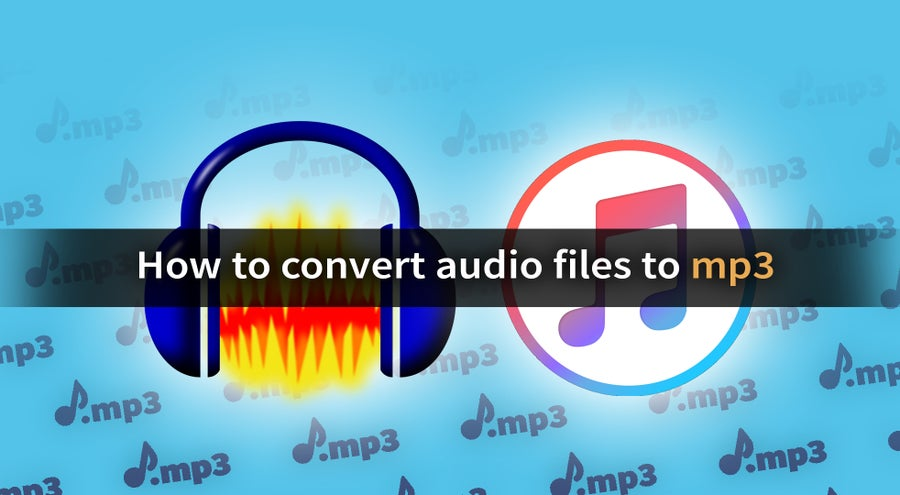 How to convert any audio file to mp3 (and more)