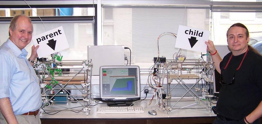 RepRap project self-replicating 3D printer