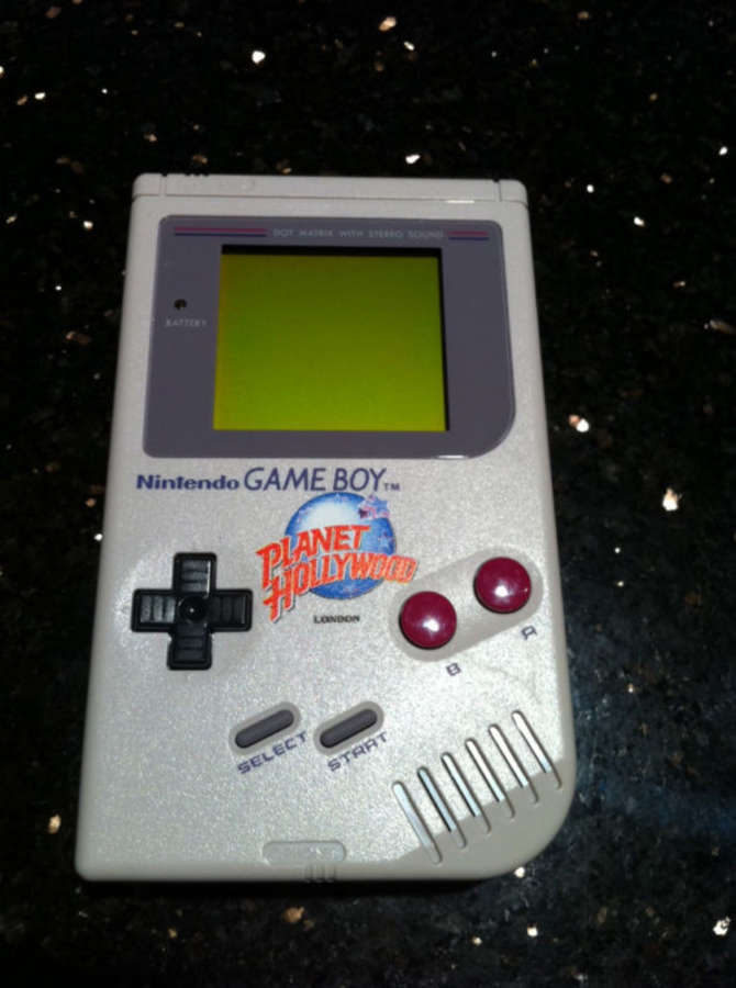 Planet Hollywood Game Boy