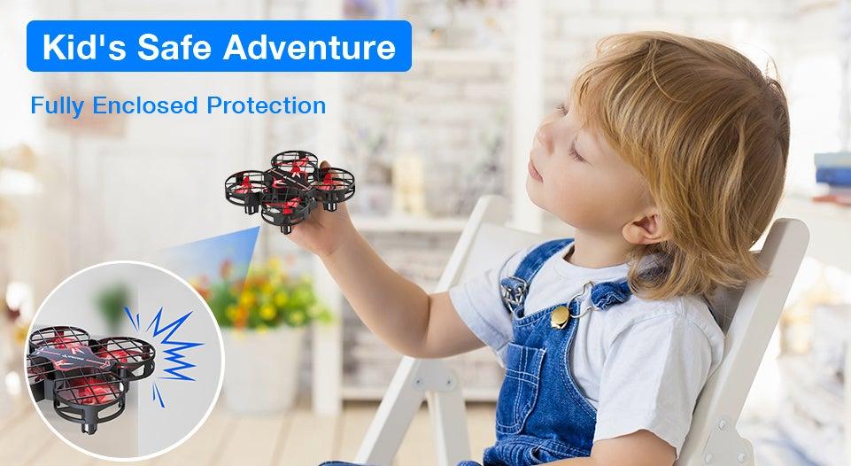kids save adventure drone