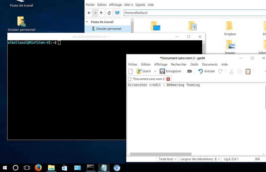Windows 10 Linux Skin