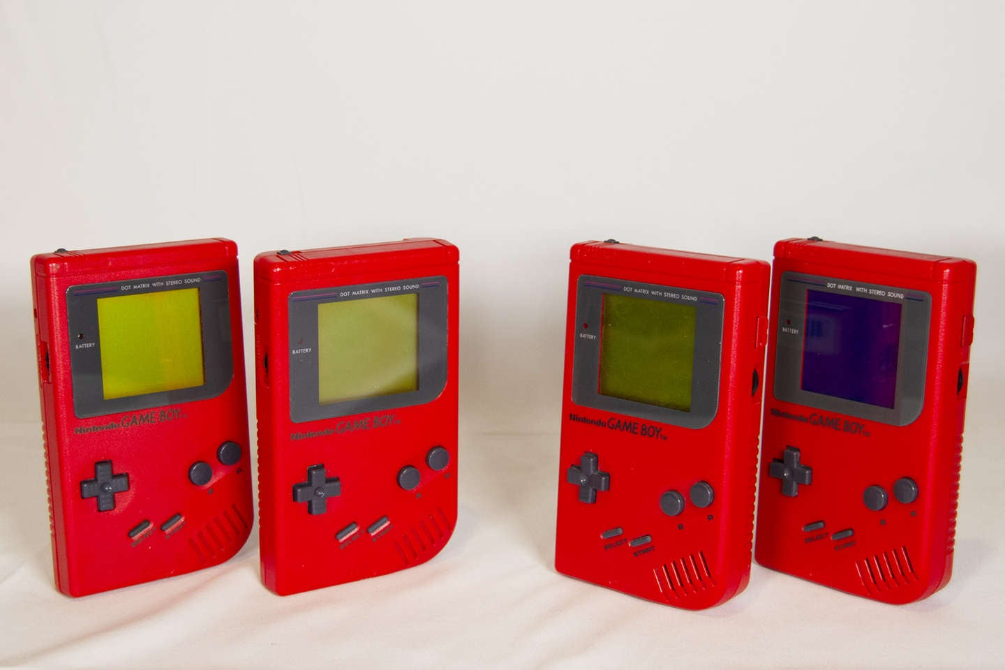 Red Play It Loud Game Boy