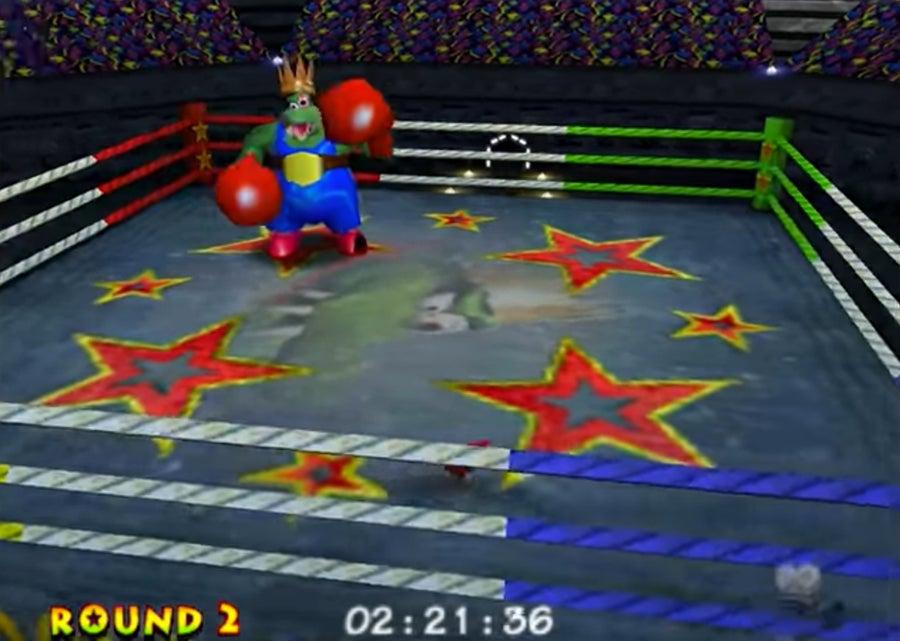 King K. Rool boxing match
