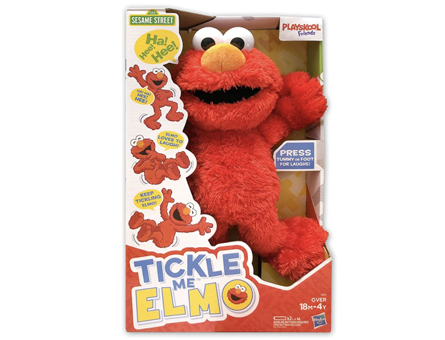 Tickle Me Elmo.