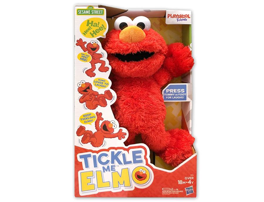Tickle Me Elmo.