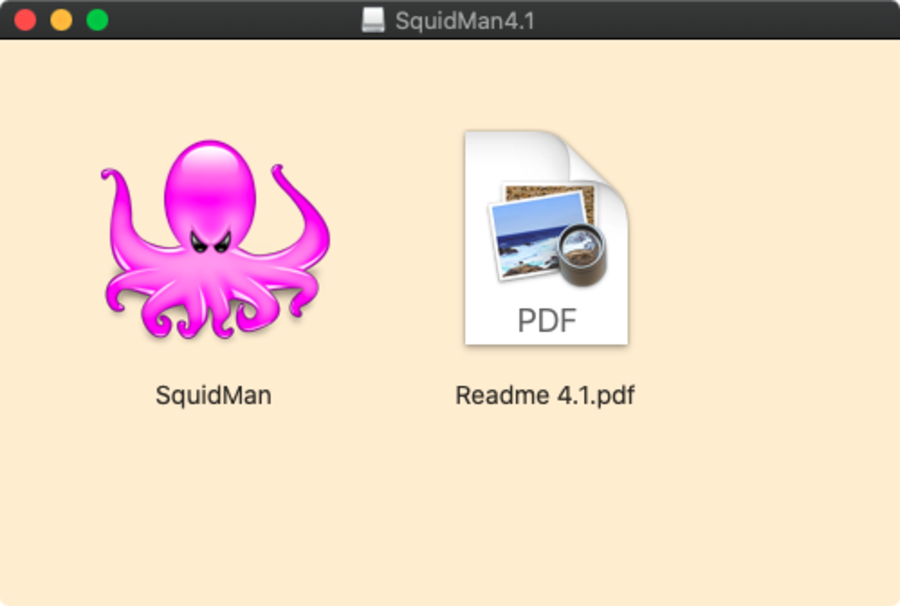 SquidMan download on macOS
