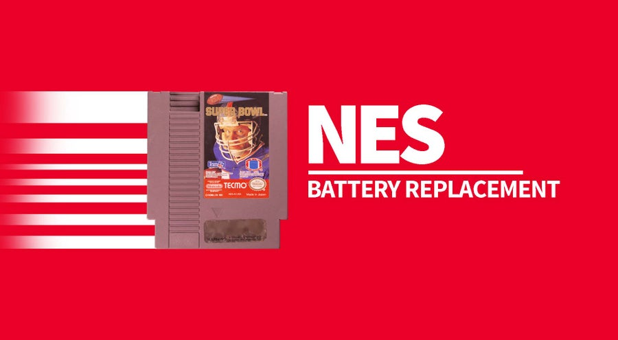 NES cartridge battery replacement